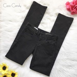 💟Gap Black Denim Straight Leg Jeans